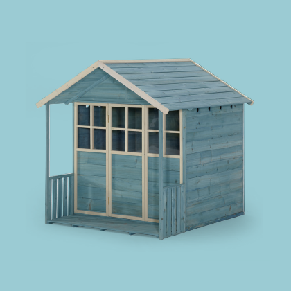GARDEN HUT WOODEN PLAYHOUSE